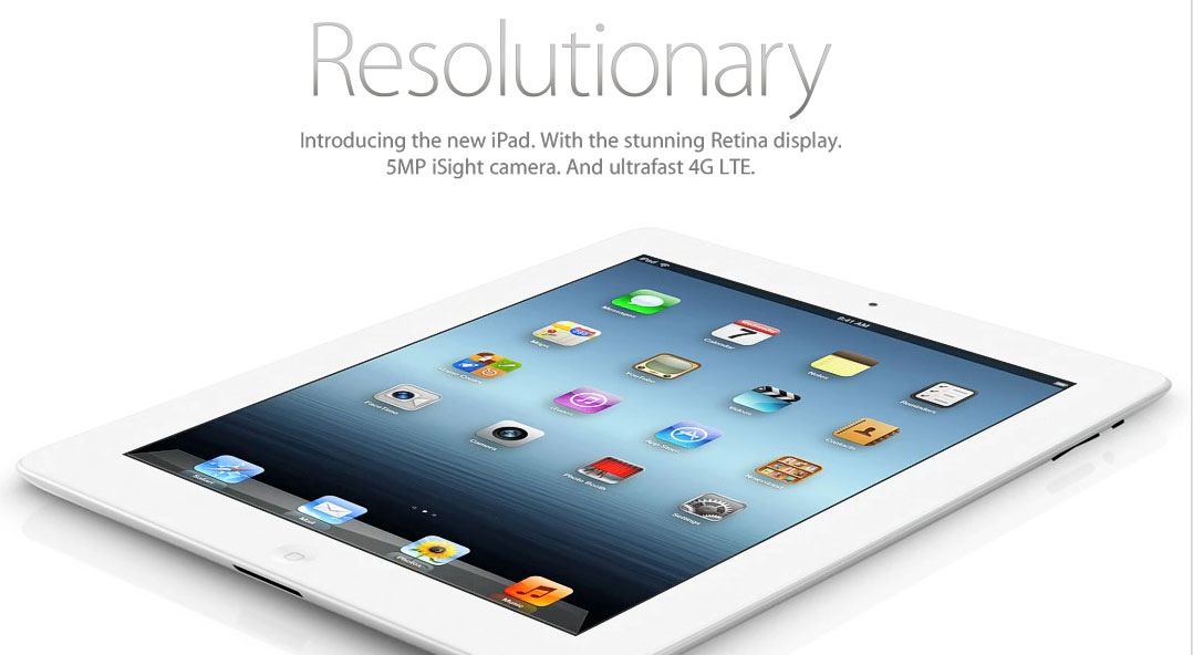 Apple - The new iPad - It's brilliant from the outside in.
